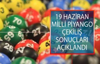 19 Haziran 2019 Milli Piyango Çekiliş Sonuçları Açıklandı! MPİ Çekiliş Sonuçları Sorgulama Ekranı