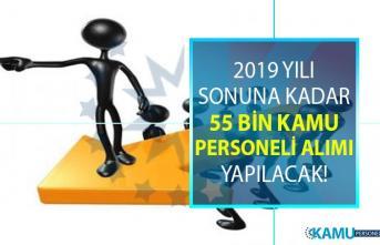 2019 yılı sonuna kadar en az ilköğretim, lise, önlisans mezunu olarak KPSS şartlı ve Şartsız 55 bin sözleşmeli personel alımı yapılması planlanıyor!