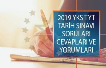 2019 YKS 15 Haziran 2019 TYT Tarih Sınavı Soruları, Cevapları ve Yorumları!