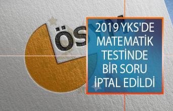 2019 YKS'de Matematik Testinde Bir Soru İptal Edildi! ÖSYM YKS TYT, AYT ve YDT Sınav Sonuçları Ne Zaman Açıklanacak?