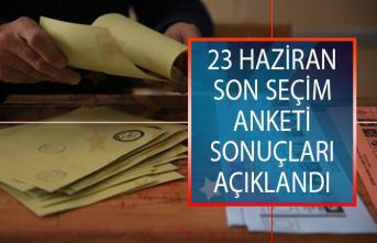 23 Haziran İstanbul Son Seçim Anketi Sonuçları Açıklandı! İstanbul'da Hangi Aday Önde?