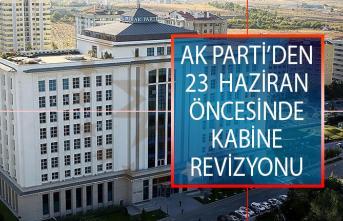 23 Haziran Seçimleri Öncesinde AK Parti'den Kabine Revizyonu İddiası!