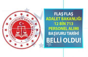 Adalet Bakanlığı KPSS şartlı 12 bin 713 personel alımı başvuru tarihi 1 Temmuz'da başlıyor! Başvuru şartları nelerdir?