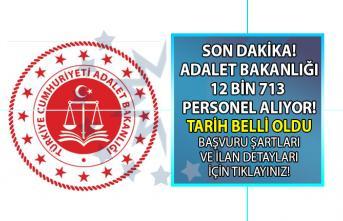 Adalet Bakanlığı personel alım ilanı başvuru tarihi belli oldu! İnfaz Koruma memuru, Zabıt Katibi alımı!