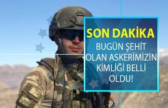Afyonkarahisar'a şehit haberi ulaştı! Bugün Şırnak'ta şehit olan askerin kimliği belli oldu!