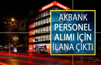 Akbank Personel Alımı İçin İlana Çıktı! 2019 Akbank Personel Alımı İş Başvuru Ekranı