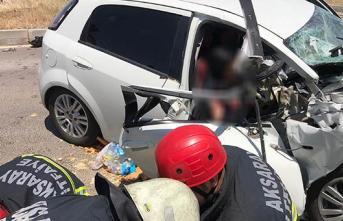 Aksaray-Ankara Karayolunda trafik kazası!