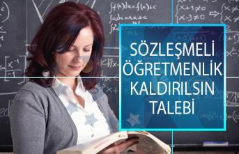 Anadolu Eğitim Sendikası'ndan Sözleşmeli Öğretmenlik Kaldırılsın Talebi!