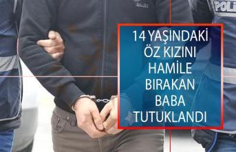 Aydın'da 14 Yaşındaki Öz Kızını Hamile Bırakan Baba Tutuklandı!