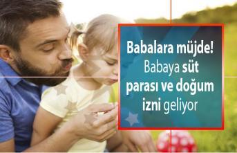 Babalara müjde! Babaların çalışma hayatındaki hakları neler? Babaya süt parası ve doğum izni geliyor!