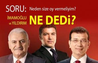 İsmail Küçükkaya:  Ben 23 Haziran'da neden Ekrem İmamoğlu'na oy vereyim?