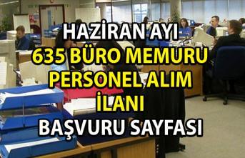 Büro memuru alım ilanları! İŞKUR tarafından Haziran ayı için 635 büro personeli alımı yapılacaktır!