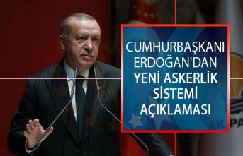Cumhurbaşkanı Erdoğan'dan Yeni Askerlik Sistemi Hakkında Açıklama! Yeni Askerlik Yasası Mecliste Onaylandı Mı?