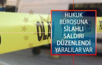 Diyarbakır'da Hukuk Bürosuna Silahlı Saldırı Düzenlendi! Yaralılar Var