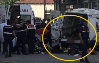 Edirne'de katliam gibi trafik kazası meydana geldi! Kazada 10 kişi öldü 30 kişi yaralandı!