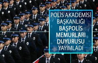 EGM Polis Akademisi Başkanlığı Başpolis Memurları ile Kıdemli Başpolis Memurları Sözlü Sınav Sonuçları pa.edu.tr