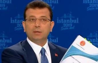 Ekrem İmamoğlu canlı yayında İBB'de yapılan büyük israf hakkında Sayıştay raporunu gösterdi