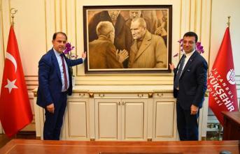 Ekrem İmamoğlu'ndan Atatürk Paylaşımı! İBB'deki Makam Odasına Asıldı