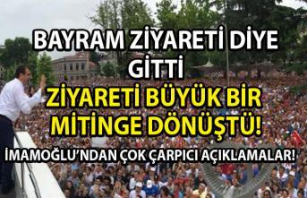 Ekrem İmamoğlu'nun Trabzon ziyareti büyük bir mitinge dönüştü, İmamoğlu Trabzon'da çok çarpıcı açıklamalarda bulundu