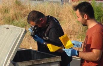 Hatay Antakya'da, çöp konteynere atılmış bebek cesedi bulundu!