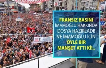İmamoğlu Dünya basınında 'Muhalif İstanbul adayı Türk siyasetini sallıyor' başlığı ile gündeme geldi!