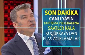 İmamoğlu ve Yıldırım'ın katılacağı canlı yayın programına saatler kala İsmail Küçükkaya' dan flaş açıklamalar!