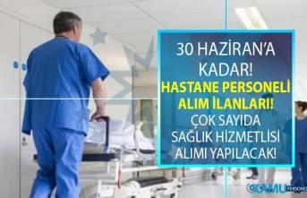 İŞKUR 24 Haziran yeni iş ilanları! İŞKUR hastane...