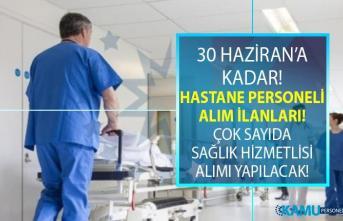 İŞKUR 28 Haziran yeni iş ilanları! İŞKUR hastane personeli alım ilanları iş başvurusu!