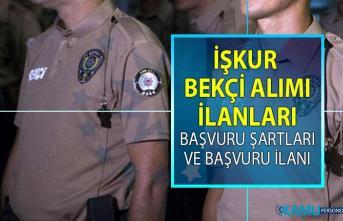 İŞKUR, bekçi alımı istihdamı için 20 Haziran'da yeni iş ilanları yayınladı! İŞKUR KPSS şartsız bekçi alımı yapacak!