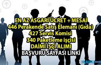 İŞKUR Bin 213 daimi işçi alımı iş başvurusu!
