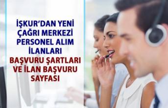 İŞKUR'dan müşteri temsilcisi personel alımı iş ilanları! Personel alımı başvuru şartları