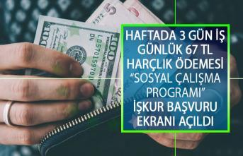 İŞKUR'dan Sosyal Çalışma Programı İle 67 TL Ödeme Yapılacak! Sosyal Çalışma Programı Başvuru Şartları Nelerdir? Nasıl Başvuru Yapılır?
