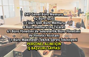 İŞKUR Haziran ayı İş ilanları! İŞKUR tarafından 670 Büro personeli alımı yapılacaktır!