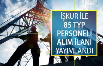 İŞKUR İle Toplum Yararına Program (TYP) Kapsamında 85 Personel Alımı Yapılacak!