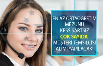 İŞKUR, KPSS şartsız en az lise mezunu 2 bin 500 ile 3 bin 500 TL maaşla müşteri temsilcisi alımı yapıyor!