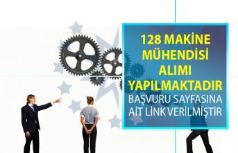 İŞKUR tarafından 128 makine mühendisi alımı için yeni iş ilanları yayınlandı!