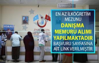 İŞKUR tarafından en az ilköğretim ve lise mezunu danışma memuru alımı için yeni iş ilanları yayınlandı!