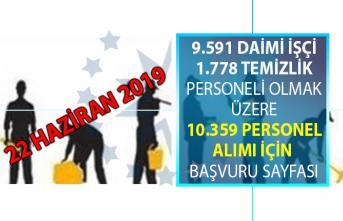 İŞKUR'da 22 Haziran'da yayınlanan iş ilanları kapsamında KPSS şartsız 11 bin 396 personel alımı yapılacaktır!