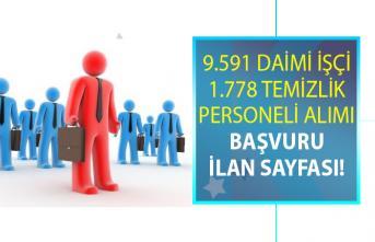 İŞKUR'da 24 Haziran'da yayınlanan iş ilanları kapsamında KPSS şartsız 11 bin 396 personel alımı yapılacaktır!