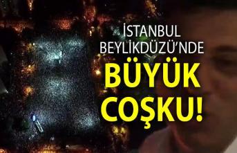 İstanbul Beylikdüzü'nde seçim zaferi kutlamaları - Beylikdüzü Son Dakika Haberleri
