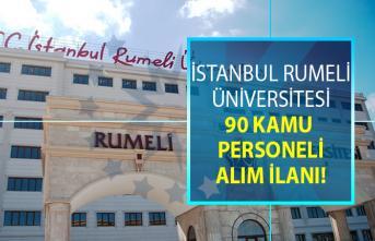 İstanbul Rumeli Üniversitesi 90 Öğretim Üyesi alacak!