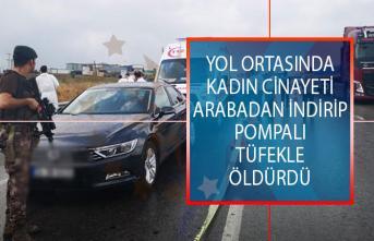 İstanbul Sancaktepe'de Yol Ortasında Kadın Cinayeti! Arabadan İndirip Pompalı Tüfekle Başından Vurdu