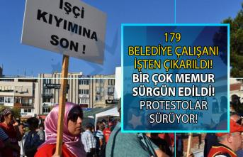 İzmir Aliağa Belediye Başkanı Serkan Acar 'İster alırım ister çıkarırım' diyerek 179 kişiyi işten çıkarttı!