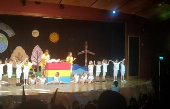 İzmir'de Çizgi Film Anaokulu miniklerden büyüklere büyük ders: Başka dünya yok