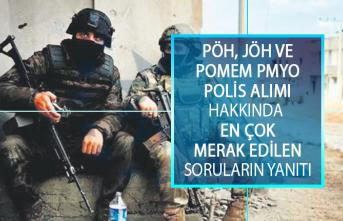 Jandarma Özel Harekat (JÖH) Alımı, Polis Özel Harekat (PÖH) Alımı ve POMEM PMYO Polis Alımı Hakkında En Çok Merak Edilen Soruların Yanıtları