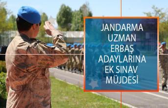Jandarma uzman erbaş alımı 2019 ek sınav şansı! Jandarma uzman erbaş alımı ek sınav ne zaman yapılacak? Hangi adaylar ek sınava girebilecek?