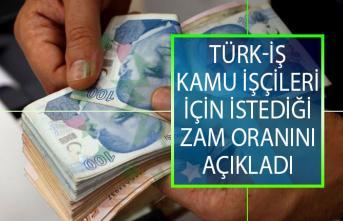 Kamu İşçilerine Ne Kadar Zam Yapılacak? Türk-İş Kamu İşçileri İçin İstediği Zam Oranını Açıkladı