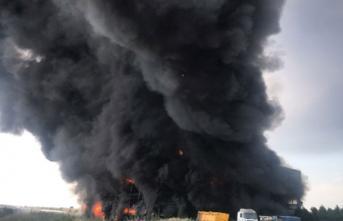 Kocaeli Çayırova'daki Fabrika Yangınından Acı Haber! 5 İşçi Hayatını Kaybetti