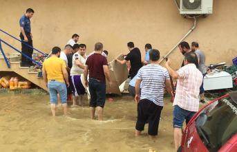 Kocaeli Darıca'da sel felaketi! 1 kişi hayatını kaybetti