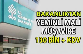 Kültür ve Turizm Bakanlığı'nın  Yeminli Mali Müşavire ödediği para dudak uçuklattı! Sayıştay'dan DÖSİM raporu!